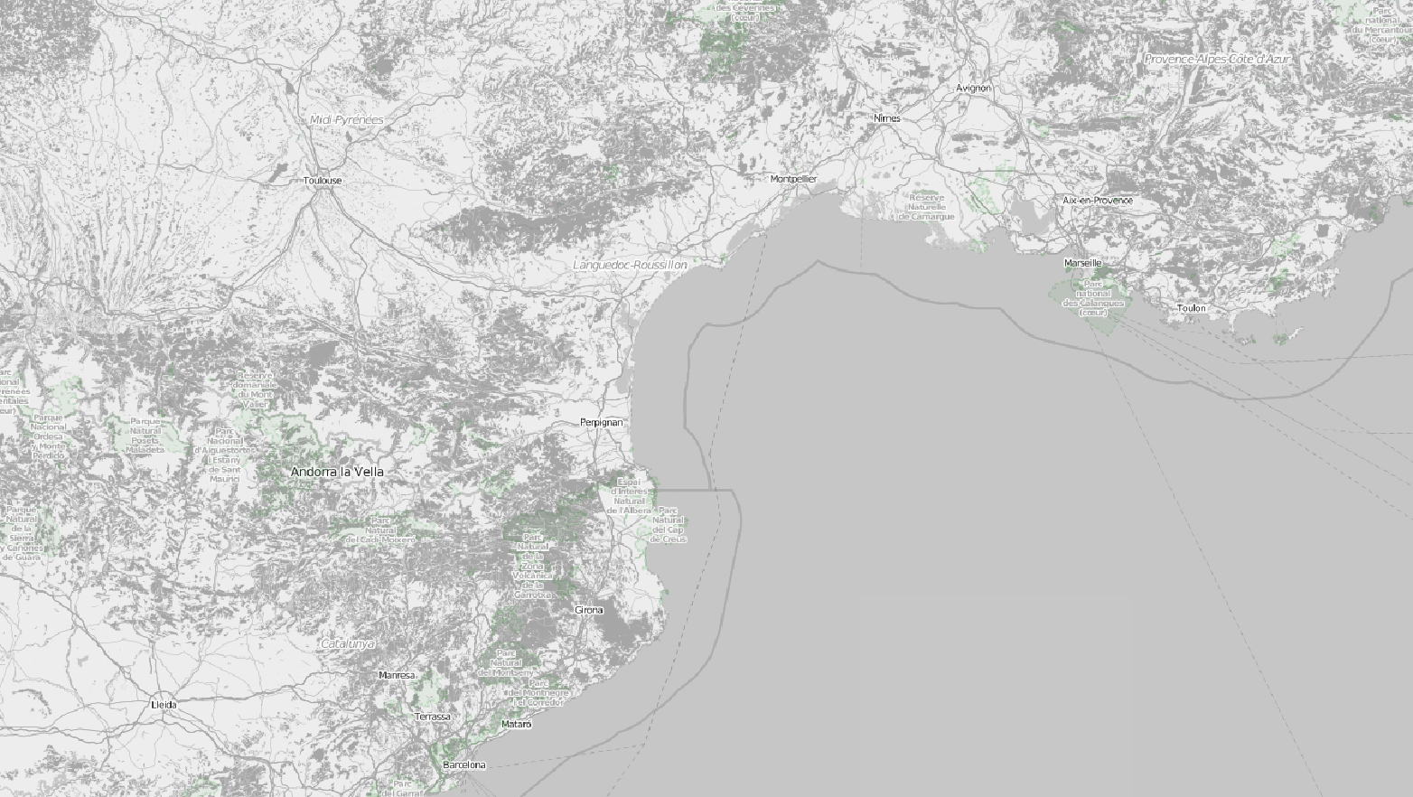 Awesome basemap layer for your QGIS project